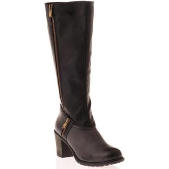Chaussures Femme Bottes ville Dtk Botte Noir