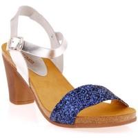 Chaussures Femme Sandales et Nu-pieds Cumbia 3017cb Bleu