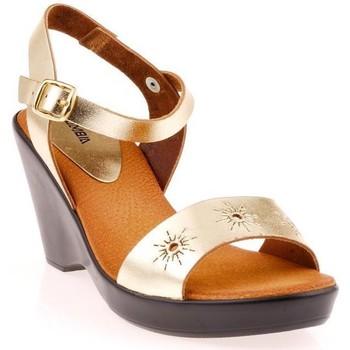 Chaussures Femme Sandales et Nu-pieds Cumbia 9031cb Or ou Bronze