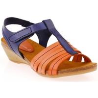 Chaussures Femme Sandales et Nu-pieds Vaquetillas 1159262 Jaune ou Orange