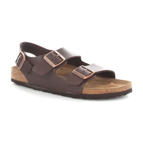 Birkenstock 034703 Sandales Homme Dark Brown Dark Brown - Chaussures Sandale Homme