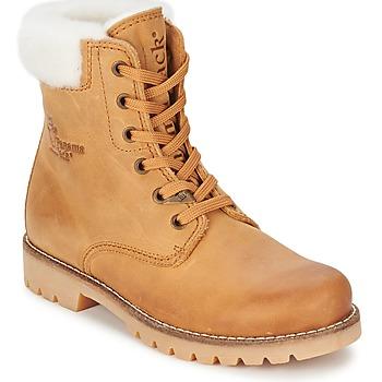 Bottines / Boots Panama Jack PANAMA Miel 350x350