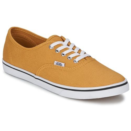 Chaussures Baskets basses Vans AUTHENTIC LO PRO Mustard / True White