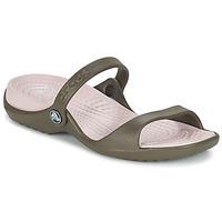 Chaussures Femme Sandales et Nu-pieds Crocs Cleo  Chocolate/Cotton Candy