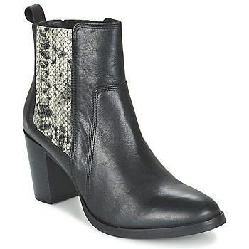Chaussures Femme Bottines Betty London FLARA Noir / Python