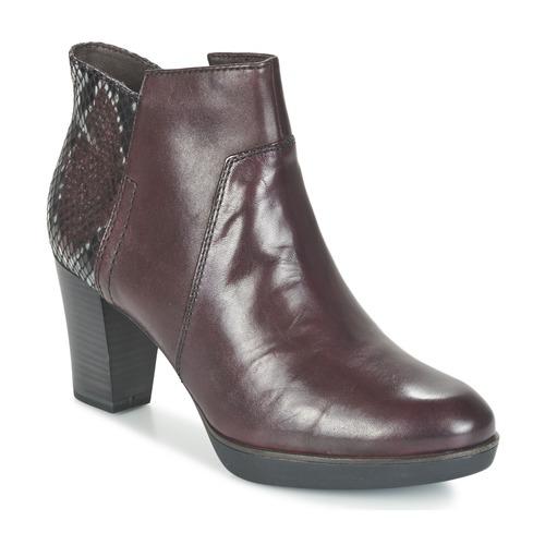 Chaussures Femme Bottines Tamaris VICHA Bordeaux