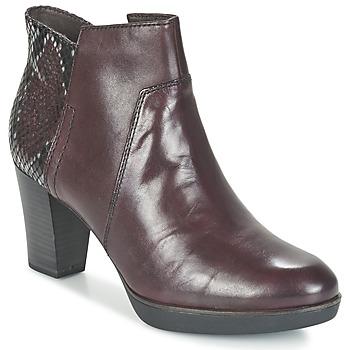 Bottines / Boots Tamaris VICHA Bordeaux 350x350