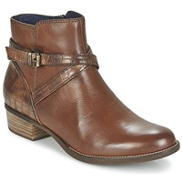 Chaussures Femme Boots Tamaris ISTRA Noisette