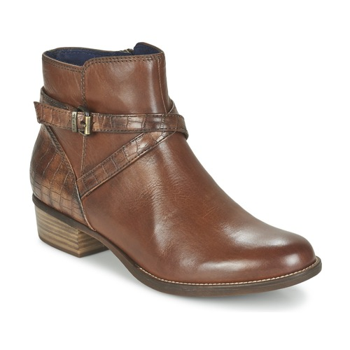 Bottines / Boots Tamaris ISTRA Noisette 350x350