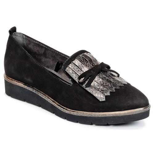 tamaris nadyma noir livraison gratuite avec chaussures derbies femme 56 00. Black Bedroom Furniture Sets. Home Design Ideas