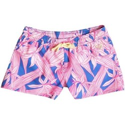 Vêtements Fille Maillots / Shorts de bain Roxy Boardshort surf pour fille Floral Paradise Rose