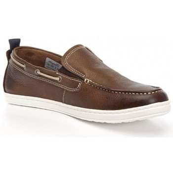 Chaussures Homme Mocassins Wrangler Woodland Moc Brązowy