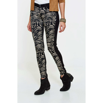 Jeans 7 for all Mankind Jeans The Skinny Skinny Imprime Animal Femme