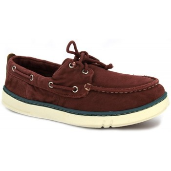 Chaussures Homme Chaussures bateau Timberland Hookset Handcrafted rouge