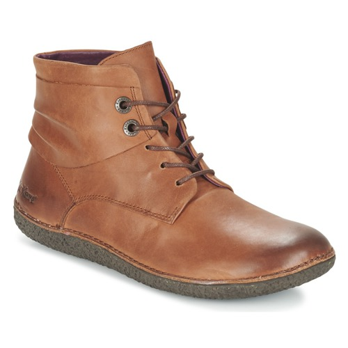 Chaussures Femme Boots Kickers HOBYLOW Marron