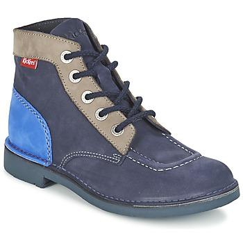 Bottines / Boots Kickers KICK COL Marine 350x350