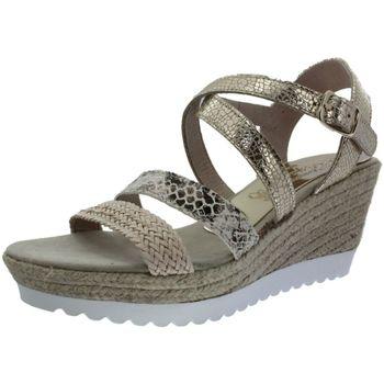 Chaussures Femme Sandales et Nu-pieds La Maison De L'espadrille 283 beige
