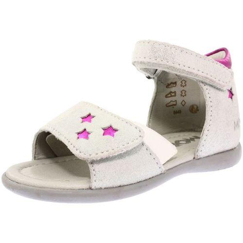 Chaussures Fille Sandales et Nu-pieds Mod'8 471770 blanc