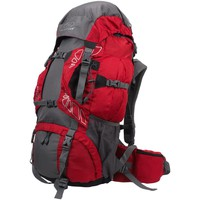 Sacs Homme Sacs à dos Highlander Discovery 65 chili grey Rouge