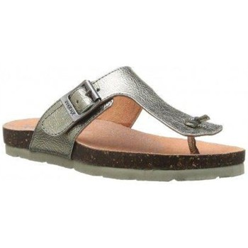 Chaussures Fille Tongs Kickers ditik 055 gris