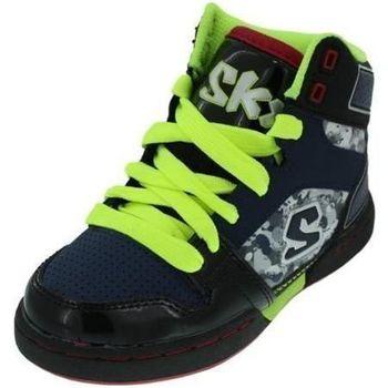Chaussures enfant Skechers BASKETS MONTANTES 91865 MASSIVE