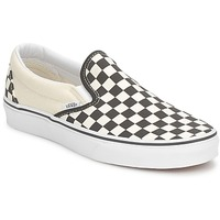 Chaussures Slips on Vans CLASSIC SLIP ON Noir / Blanc