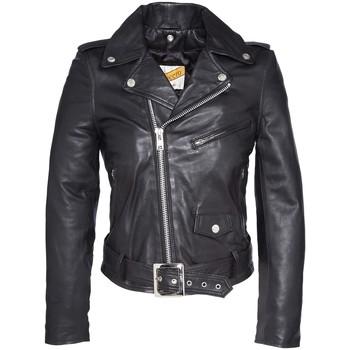 Vêtements Femme Vestes en cuir / synthétiques Schott PERFECTO FEMME   Black Noir