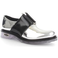 Chaussures Femme Mocassins Cult CLE102395 Ballerines et Mocassins Femme Silver/Black Silver/Black