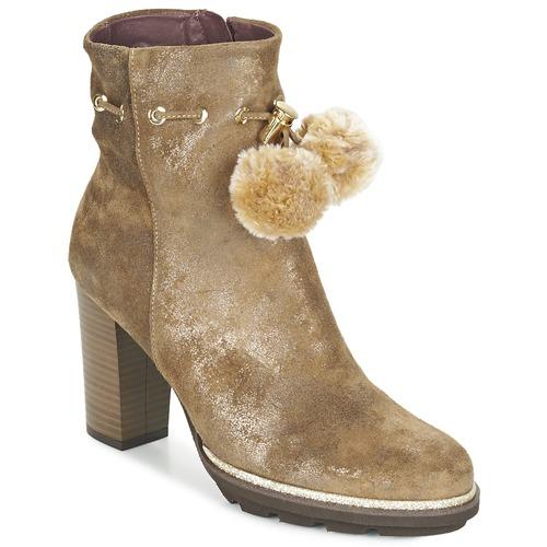 Chaussures Femme Bottines Fericelli FAHRA Beige