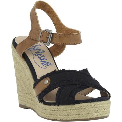 Chaussures Femme Espadrilles Refresh 61746 Negro