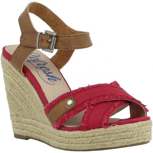 Chaussures Femme Espadrilles Refresh 61746 Rojo