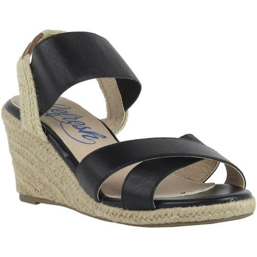 Chaussures Femme Espadrilles Refresh 61778 Negro