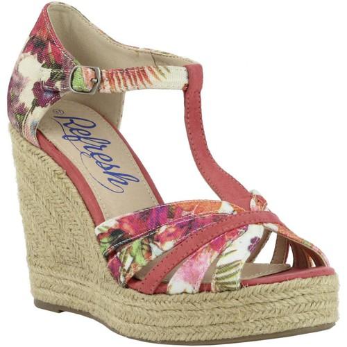 Chaussures Femme Espadrilles Refresh 61805 Rojo