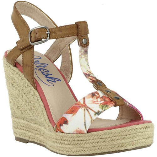 Chaussures Femme Espadrilles Refresh 61853 Rojo