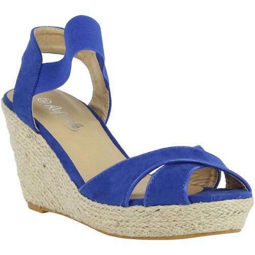 Chaussures Femme Espadrilles Refresh 61953 Azul