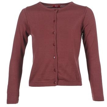 Vêtements Femme Gilets / Cardigans BOTD EVANITOA Bordeaux