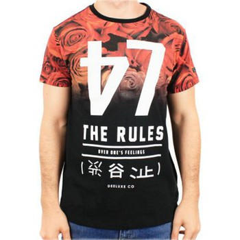T-shirts manches courtes Deeluxe Tee Shirt Deeluxe S16180K Mash Kid Black