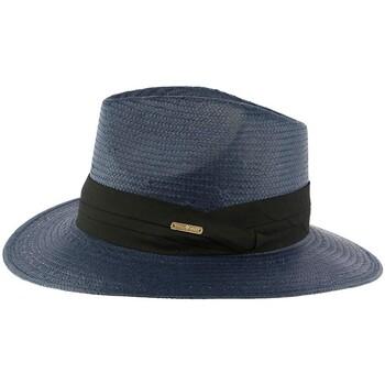 Accessoires textile Homme Chapeaux Léon Montane Chapeau de Paille Bleu Marine Théo Marine