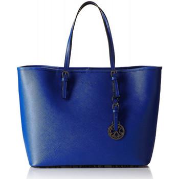 Cabas Christian lacroix sac cabas plaza 1 bleu royal amazonie bleu