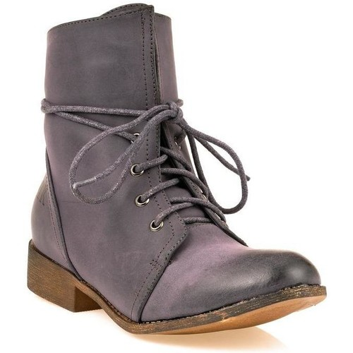 Chaussures Femme Boots Dtk Bottine Marron