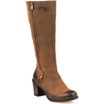 Chaussures Femme Bottes ville Dtk 2145053 Marron