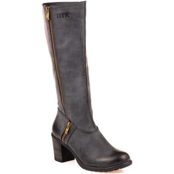 Chaussures Femme Bottes ville Dtk Botte bleu