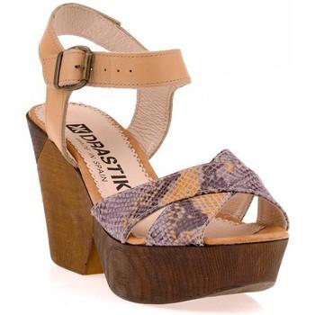 Chaussures Femme Sandales et Nu-pieds Vaquetillas Sandale Marron