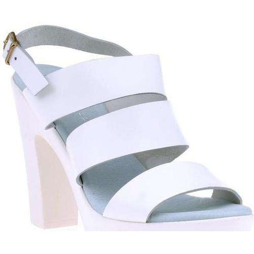 Vaquetillas Sandale blanc - Chaussures Sandale Femme