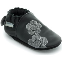 Chaussures Fille Chaussons Robeez Flora Noir Rose