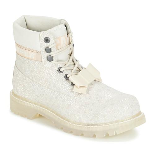 Bottines / Boots Caterpillar COLORADO CURTSY Blanc 350x350