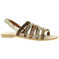 Chaussures Femme Sandales et Nu-pieds Ambiance Nu pieds cuir Beige