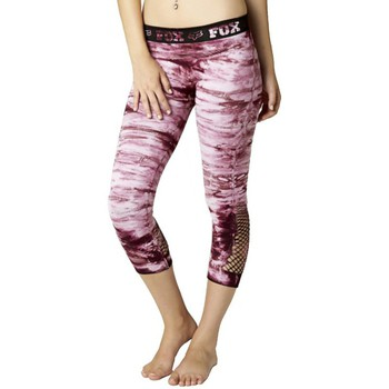 Vêtements Femme Leggings Fox Legging  Tie Dye Capri - Merlot Rouge