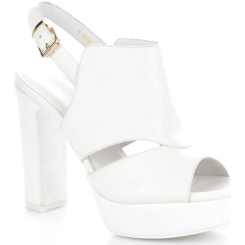 Chaussures Femme Sandales et Nu-pieds Luciano Barachini 6046G Sandales Femme White White