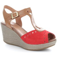 Chaussures Femme Sandales et Nu-pieds Stonefly 106400 Sandales Femme Scarlet/Cigar Scarlet/Cigar
